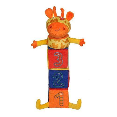 Girafa amiga piramide