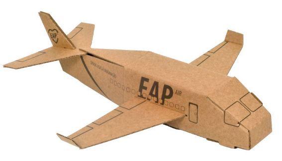 Destaque, Pinte e Monte - Avião 3D
