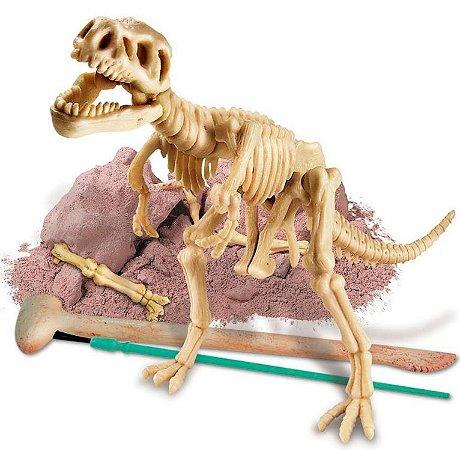 Kit de Escavação de Esqueleto - Tiranossauro Rex