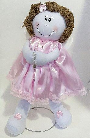 Boneca Anjo (Tamanho M)- de pano