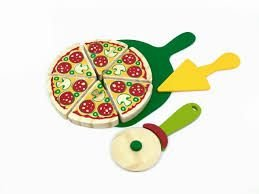 Coleção Comidinhas Pizza- 08 fatias