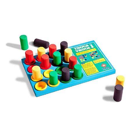 Jogo Troca Troca-Multicolorido-Hergg