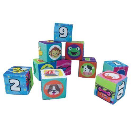 Conjuntos Cubos espuma