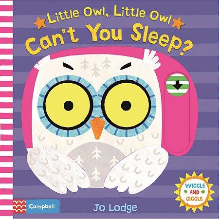 Livro Inglês – Livros para Crianças –  Livro Interativo em Inglês – Can't You Sleep - Ciranda Cultural