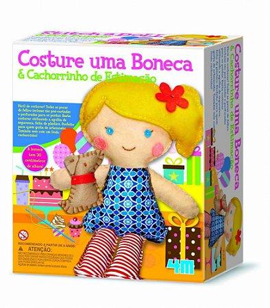Costura Infantil – Costure uma Boneca e um Cachorrinho – Kosmica – 4M