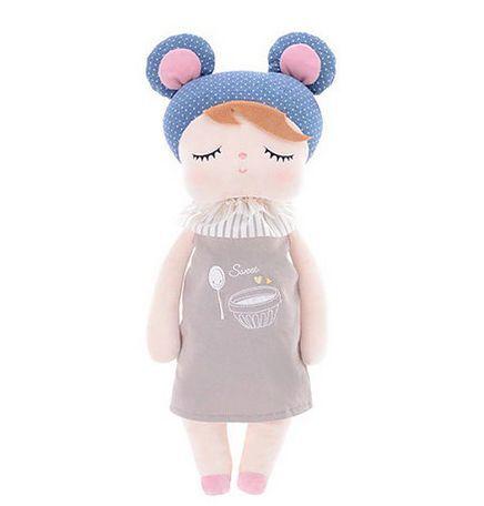 Boneca Metoo Angela Doceira Retro Bear Azul (33 cm)