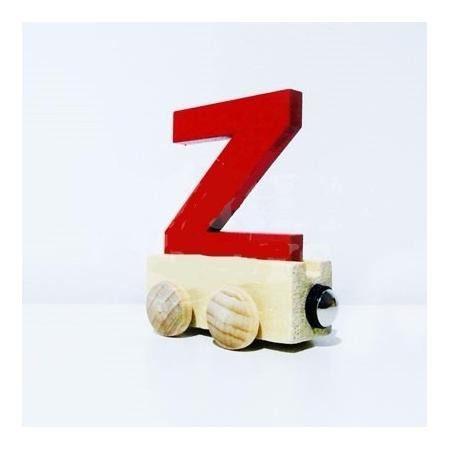 Vagão Letra Z - Vermelho