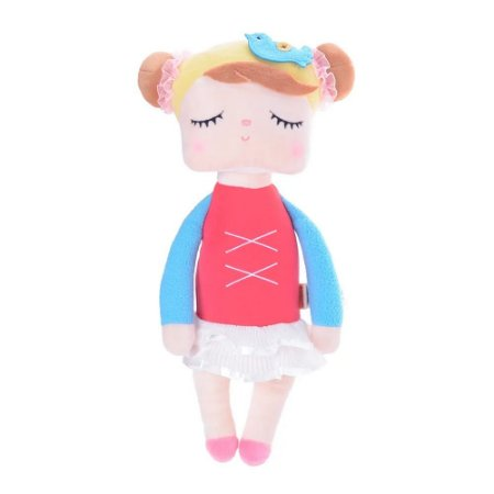 Boneca Metoo Angela Bailarina Vermelha (33 cm)