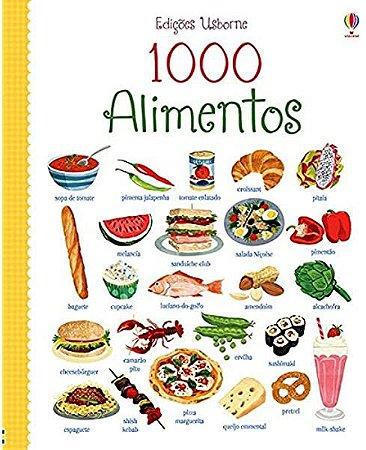 Livro - 1000 Alimentos -  Vocabulário