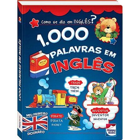 Livro - 1000 Palavras Em Ingles