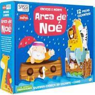 Livro - Arca de Noe. Encaixe e Monte - 3D Gigante