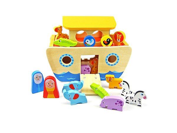 Arca De Nóe - Madeira - Tooky Toy
