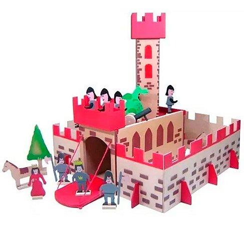 Castelo Completo Madeira - Baú do Pirata