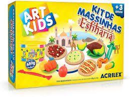 Kit De Massinhas - Esfiharia