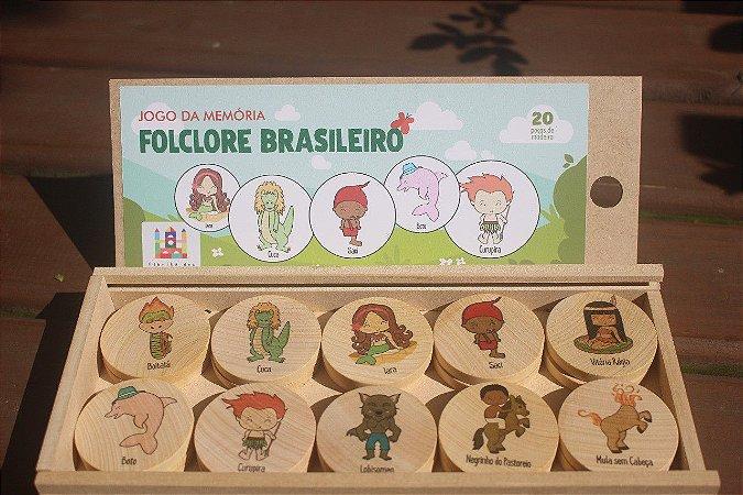 Jogo da Memoria - Folclore Brasileiro
