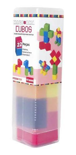 Magformas - Jogo Magnético Cubos 22 Peças