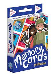 Jogo De Cartas - Memoria - Profissões - Memory Cards