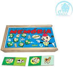 Jogo Da Memoria - Animais Libras
