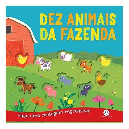 Livro - Dez Animais Da Fazenda - Contar