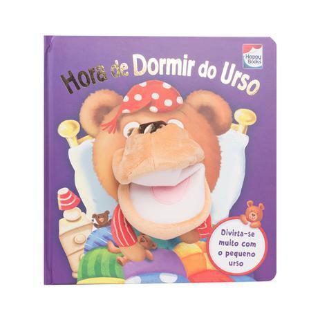 Livro - Diversão Com Fantoches - Hora De Dormir Do Urso