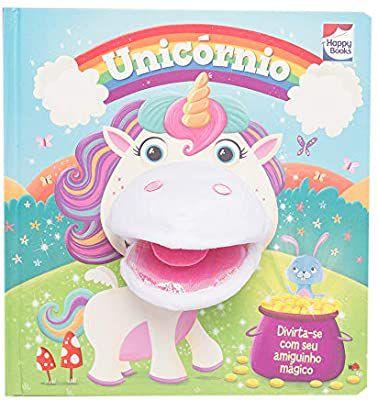 Livro - Diversão Com Fantoches - Unicornio