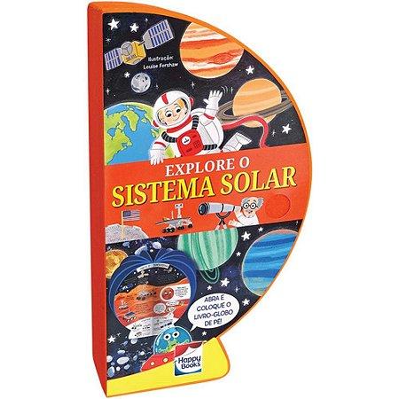 Livro - Globo - Explore O Sistema Solar - 3D