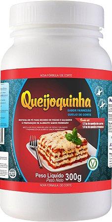 Queijo Vegetal Queijoquinha Sabor Parmesão 300g