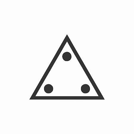 Adesivo Triângulo Três Pontos