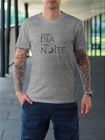 Camiseta Meio Dia a Meia Noite