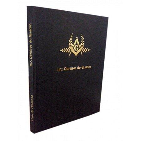 Livro de Assinaturas Obreiros