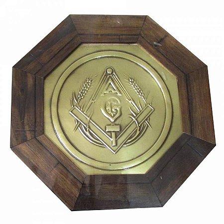 Quadro Octagonal Maçonaria
