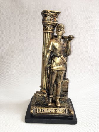 Estátua Companheiro Maçom