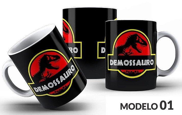 Caneca Demossauro - Vários modelos