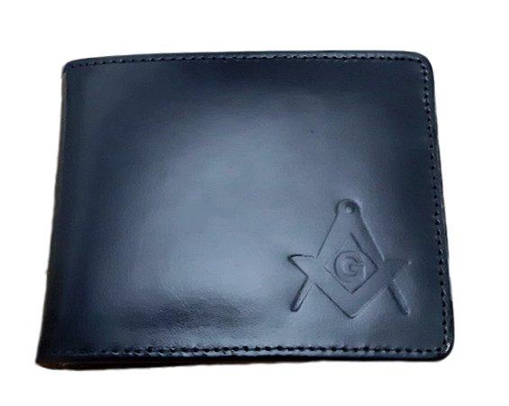 Carteira Esquadro e Compasso Premium