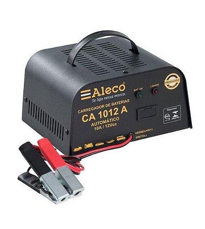 Carregador de Bateria 10A/ 12V Bivolt automático 1012A Aleco