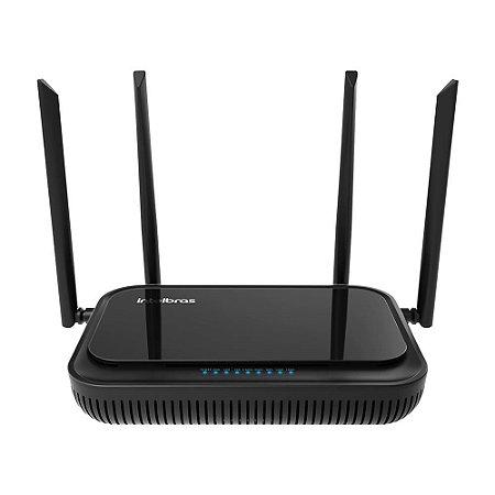 ONT com 2 portas Gigabit Ethernet e 1 porta FXS e Wi-Fi WiFiber 121 AC Intelbrás