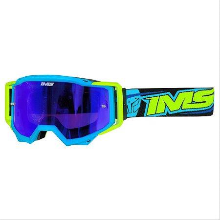 Óculos IMS Vision azul - moto ou bike