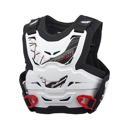 Colete infantil para moto ou bike Polisport Phantom Mini