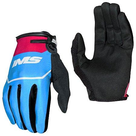 Luvas para moto ou bike IMS Power azul