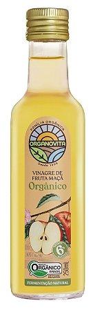 Vinagre de Maçã Orgânico Organovita 250mL