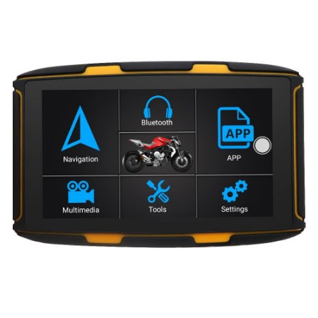 GPS para Motos com Android, Wi-fi, Bluetooth 4.0