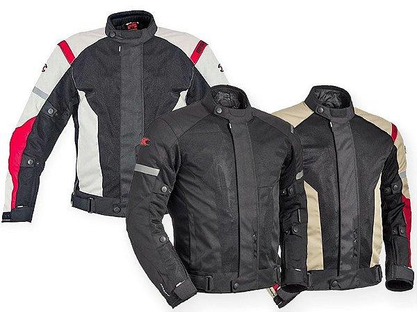 Jaqueta Motociclista Texx Saga Four Season - 4 estações