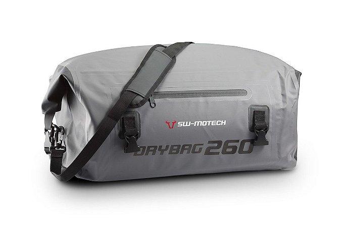 Mala traseira externa impermeável - Mod. DRYBAG 260 - 26 litros - Cinza