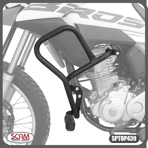 Protetor Motor Carenagem Honda Bros160 2015+ Scam Spto439