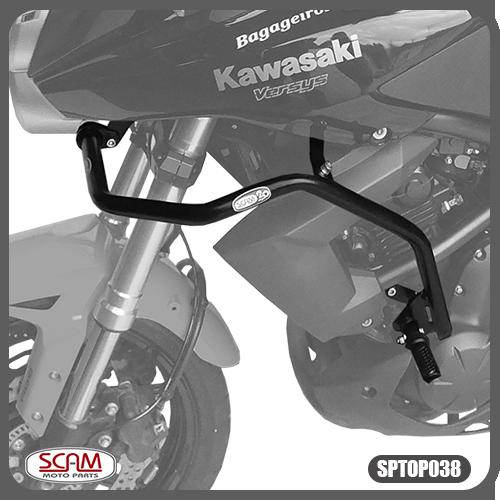 Protetor Motor Carenagem Kawasaki Versys650 2010-2014 Scam Sptop038