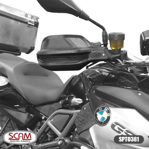 Protetor De Mão/Punho Bmw F800gs Adventure 2014+ Scam Spto381