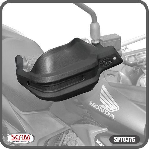 Protetor De Mão Honda Xre300 2010-2015 Spto376 Scam