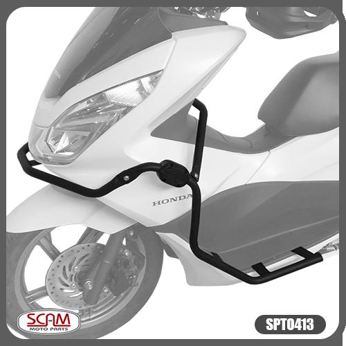 Protetor De Carenagem Honda Pcx150 Até 2018 Spto413 Scam
