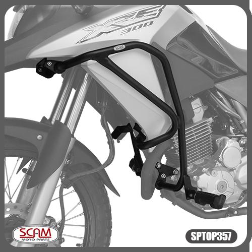 Protetor Motor Carenagem Honda Xre300 2010+ Sptop357 Scam