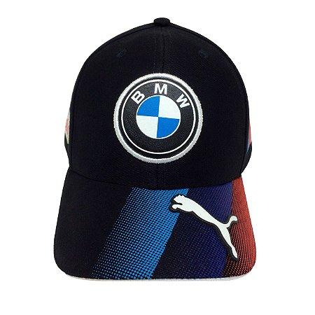 Boné BMW Azul Marinho